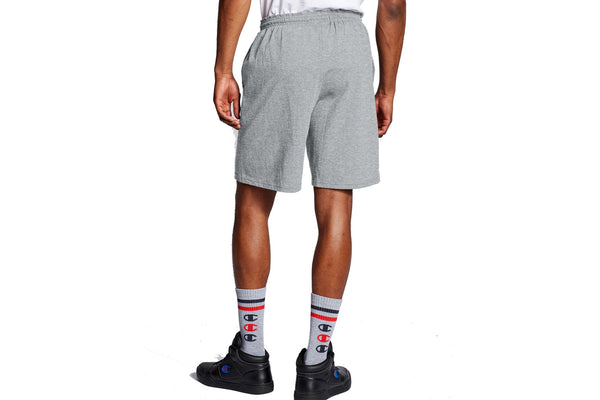 Men's Oxford Grey Classic Jersey Shorts, C Logo