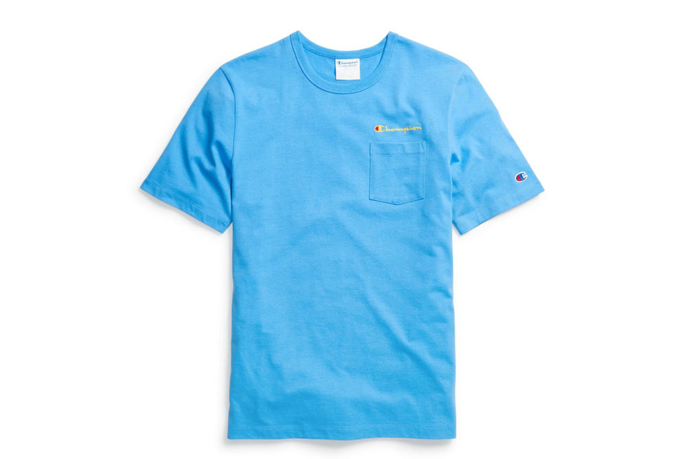 Life® Men's Active Blue Pocket T-Shirt