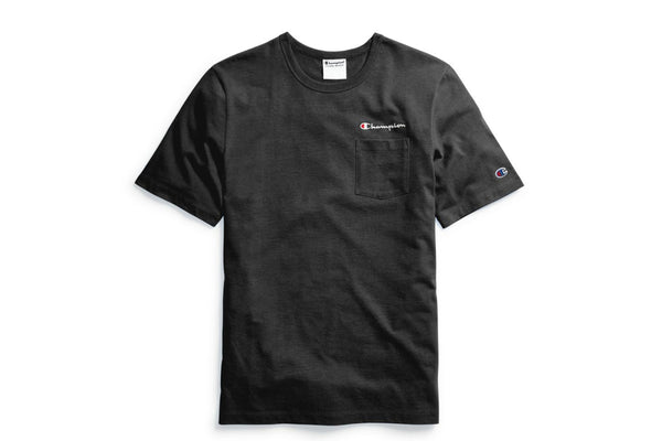 Life® Men's Black Pocket T-Shirt