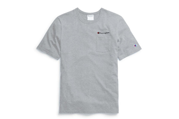 Life® Men's Oxford Gray Pocket T-Shirt