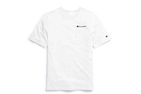 Life® Men's White Pocket T-Shirt