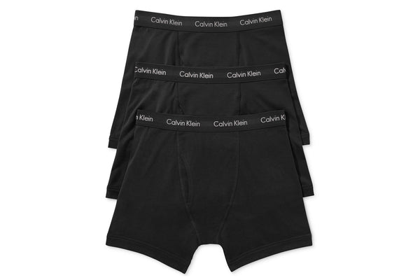 Men's 3PK Cotton Stretch Boxer Briefs NU2666 001