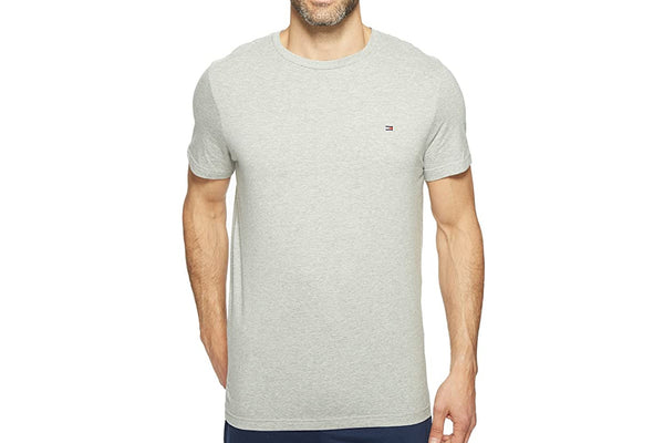 Men's Grey Heather Core Flag Crew T-Shirt