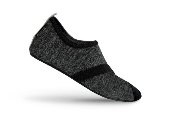 Women's Live Well Heathered Black