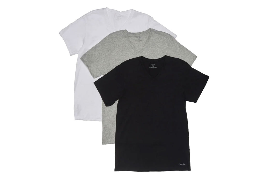Men's 3PK Cotton Classic V-Neck Shirts M4065 900