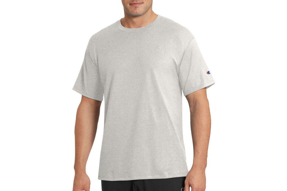 Men's Grey Classic Athletic Fit Jersey Tee
