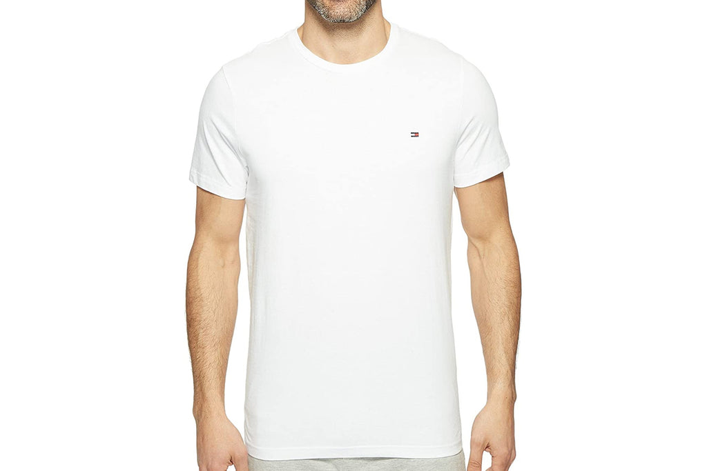 Men's White Core Flag Crew T-Shirt