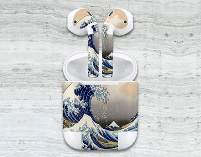 Great Wave Off Kanagawa By Hokusai Skin