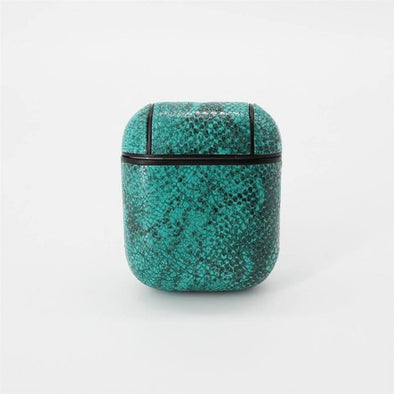 Leviathan Green Snakeskin Case