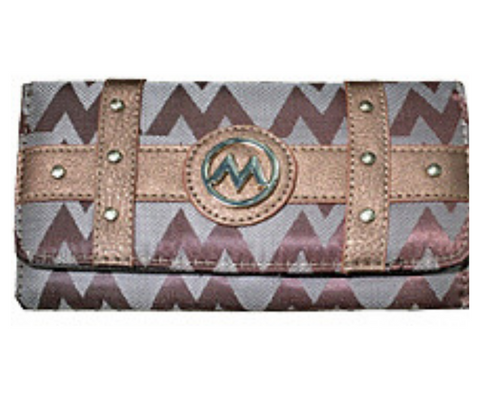 Brown M Style Wallet
