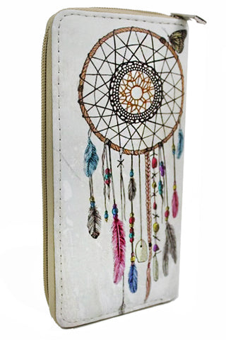 Dreamcatcher Zip Around Wallet