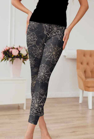 Fancy Spiderweb Leggings