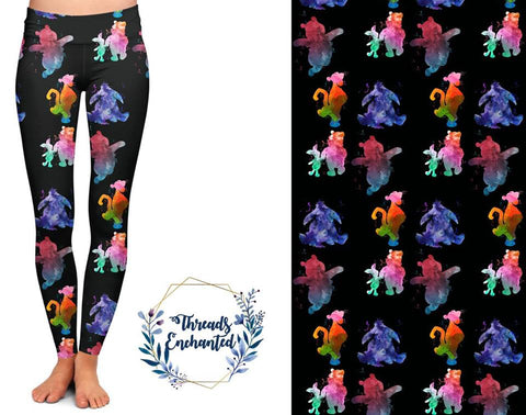 Happy Friends Leggings