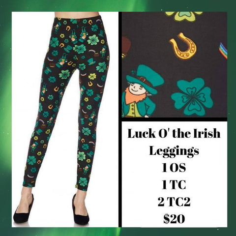 Luck O' the Irish Leggings