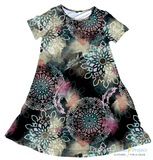 Mandala Night Charley Dress