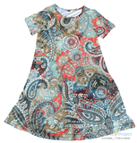Ocean Sunset Charley Dress