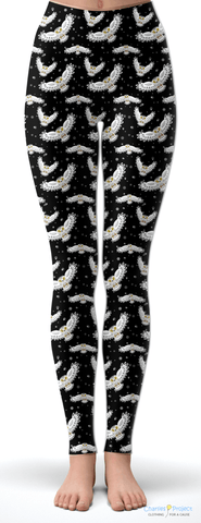 Snowy Owl Tween Leggings