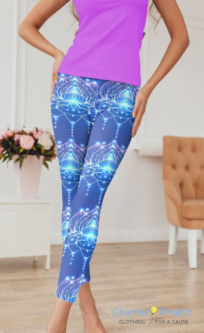 Yoga Glow Capri Leggings