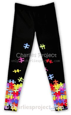 Autism Awareness Kids Leggings