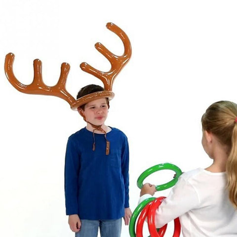Reindeer Games Inflatable Ring Toss Game