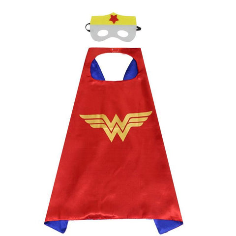 Super Hero Cape and Mask Set Cosplay