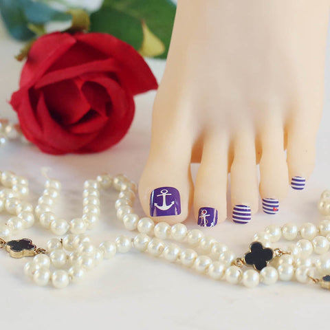 Love is My Anchor Mini Nail Polish Strips