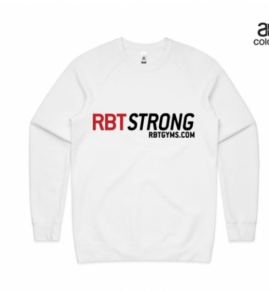 RBT Strong Classic Jumper WHITE