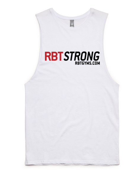 RBT Strong Tank WHITE