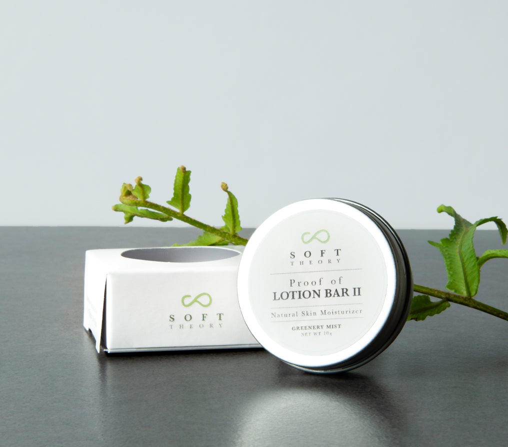 Proof of Lotion Bar II - 10g (Greenery Mist-Scent of Soft Green Forest Blossom) - SOFT THEORY