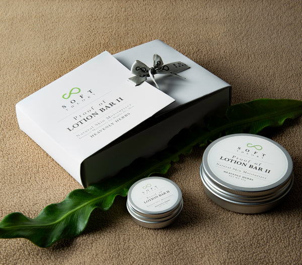 Proof of Lotion Bar II - Gift Set (Heavenly Herbs-Scent of Freshness of Flower Blossom) - SOFT THEORY