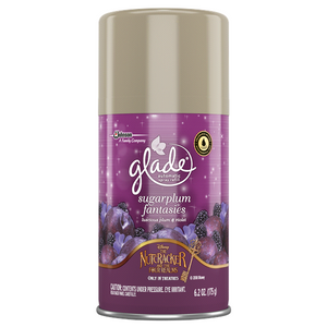 Glade Automatic Spray Sugarplum Luscious Plum & Violet 6/ 6.2oz