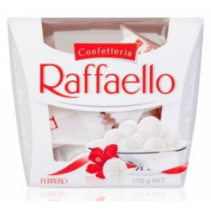 Ferrero Raffaello Chocolate Ballotin Box 15pk 6/ 5.3 oz