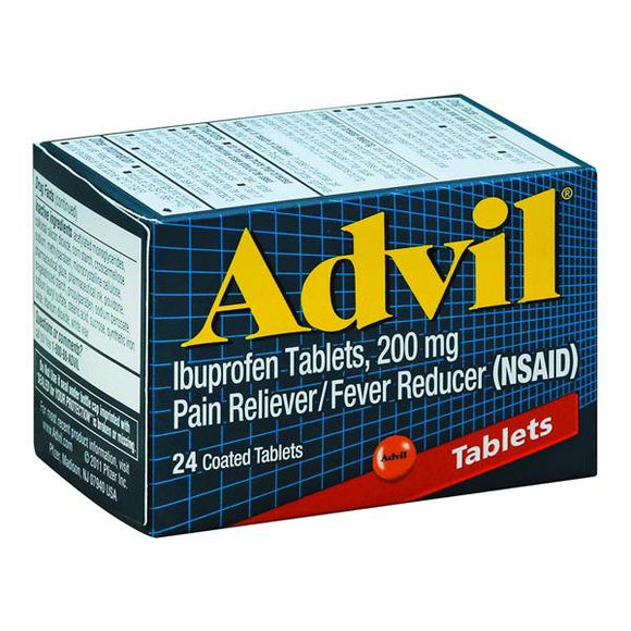 Advil Tablets 6/ 24 ct