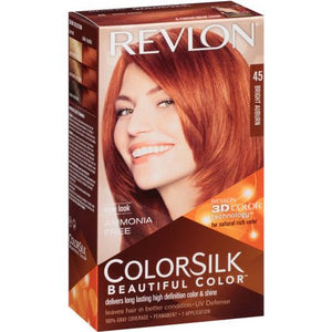 Revlon ColorSilk Hair Color Bright Auburn #45/ 12/ 1 ct