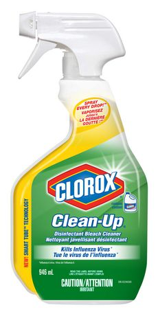 Clorox Clean-Up Disinfecting Trigger WBleach 12/ 32oz