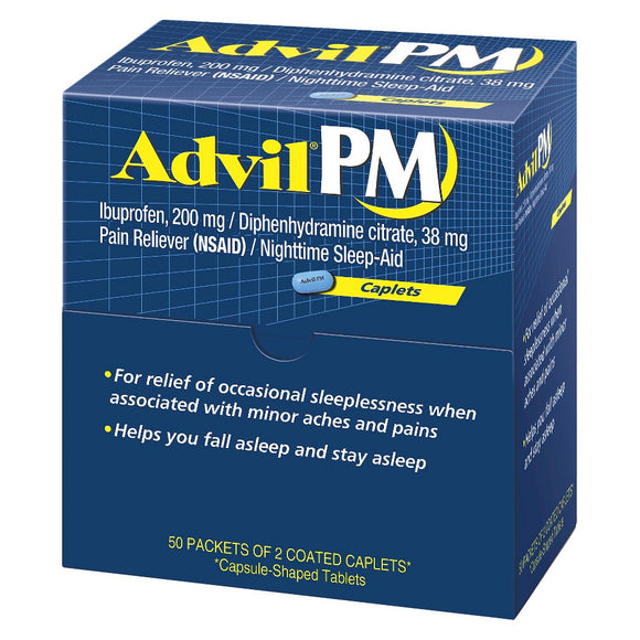 Advil PM Tablets Dispensers 50/ 2 ct