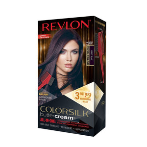 Revlon ColorSilk Hair Color Buttercream Vivid Violet Black #28DV/ 12/ 1 ct