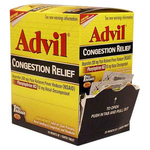 Advil Sinus Congestion & Pain 25/ 1 ct