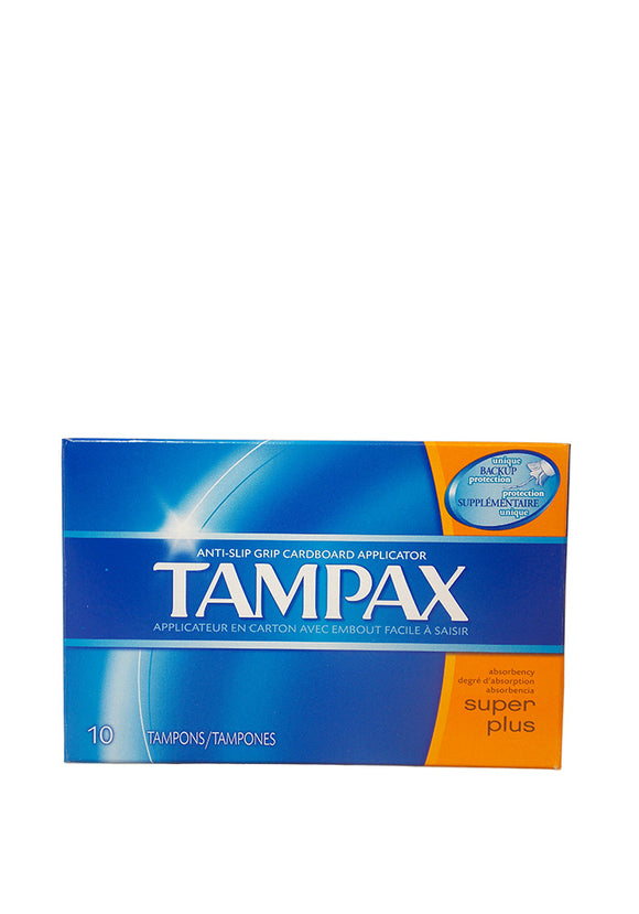 Tampax Super Plus 12/ 10 ct