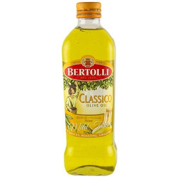 Bertolli Olive Oil Classico Plastic Bottle 6/ 25.5 oz