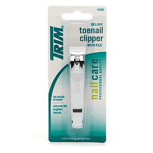 Trim Toe Nail Clipper 6/ 1 ct