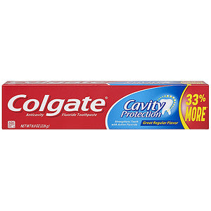 Colgate Toothpaste Great Regular Flavor Cavity Protection 24/ 8 oz