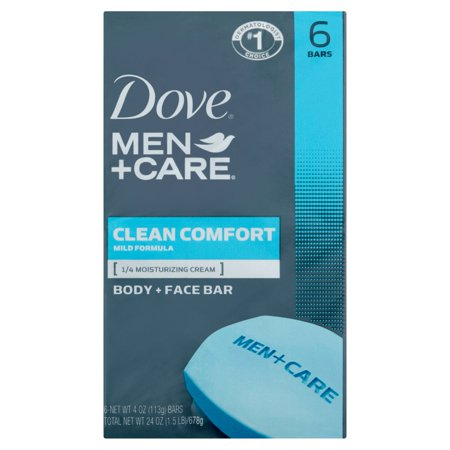 Dove USA Men Bar Soap Clean Comfort 6pk 12/ 4 oz