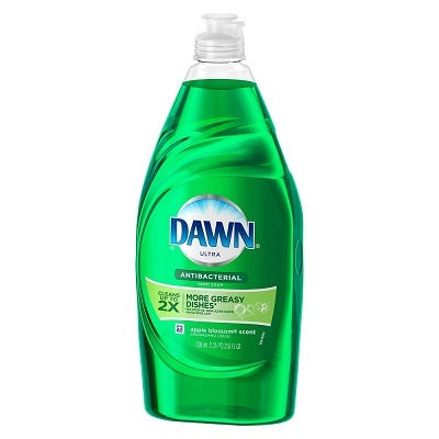 Dawn Ultra Dish Liquid Antibacterial Apple Blossom 10/ 18oz