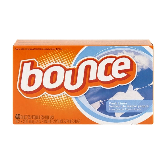 Bounce Softener Sheets Fresh Linen 12/ 40 ct