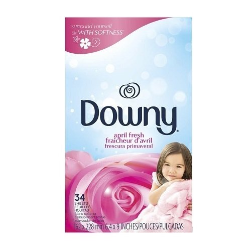 Downy Fabric Sheets April Fresh 12/ 34 ct