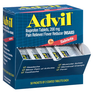 Advil Tablets Dispensers 50/ 2 ct