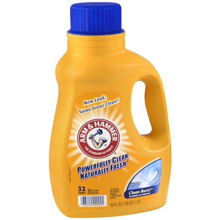Arm & Hammer Liquid Clean Burst HE 2x 8/ 50oz