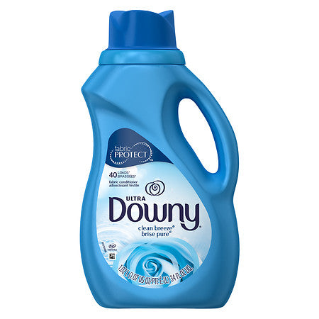 Downy Ultra 40 Load Clean Breeze 6/ 34 oz