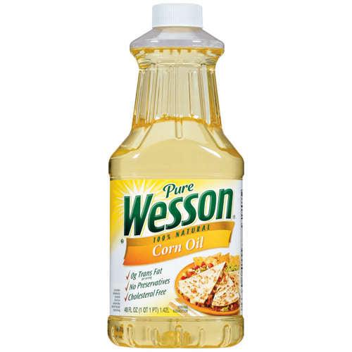 Wesson Oil Corn Oil 9/ 48 oz